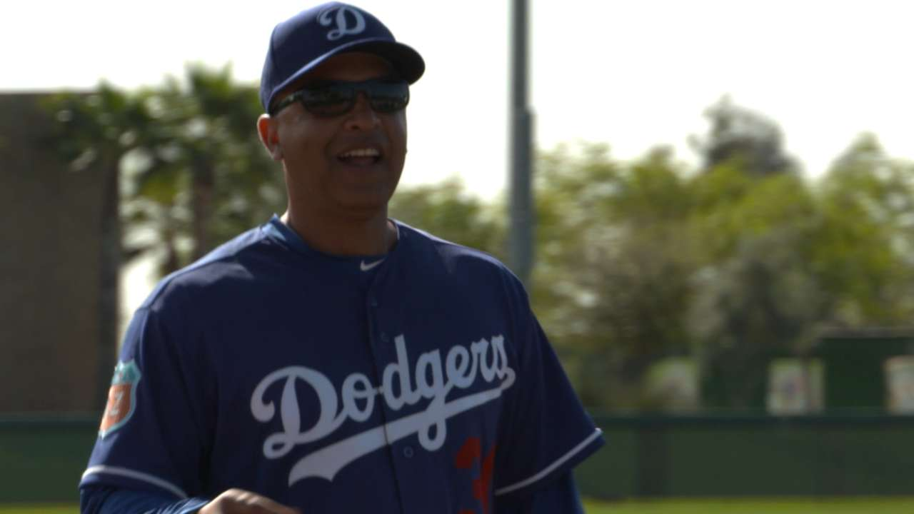 Roberts brings energy to Dodgers