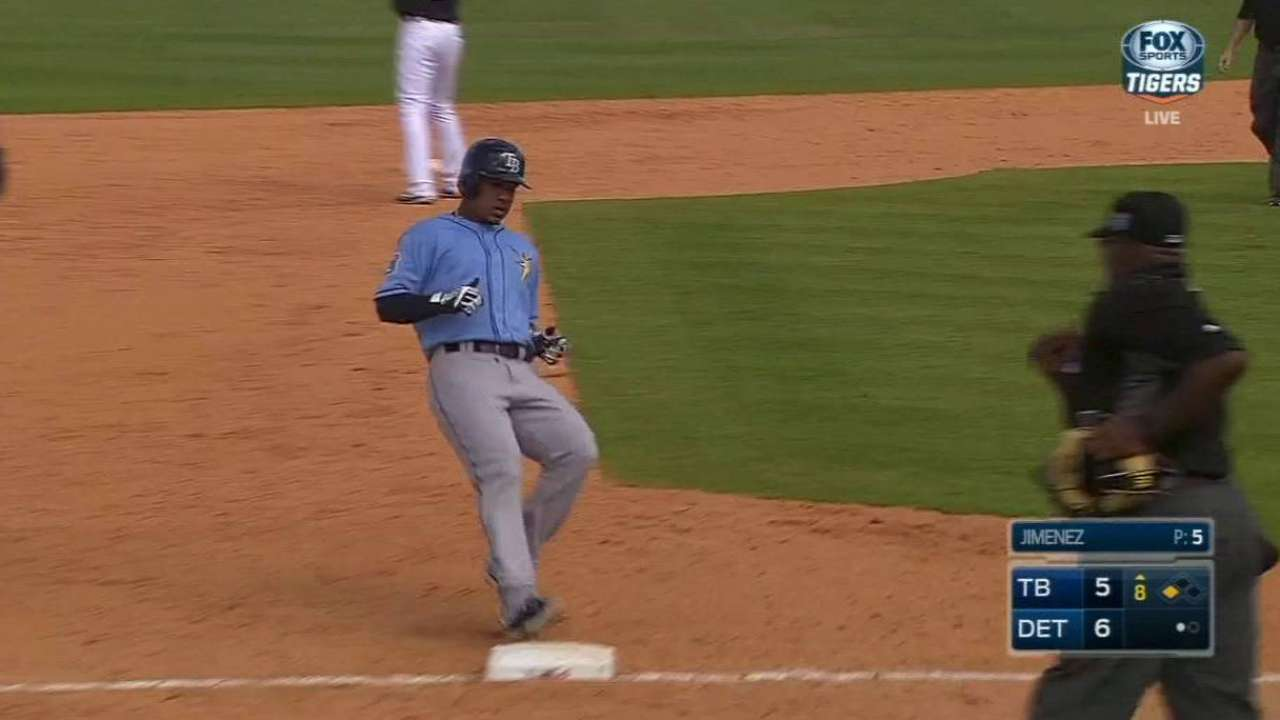 Rays reassign trio to Minor League camp