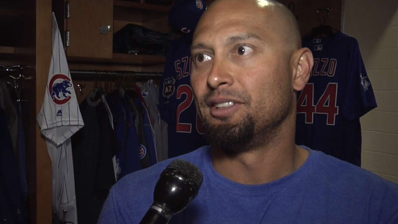 Victorino on joining Cubs