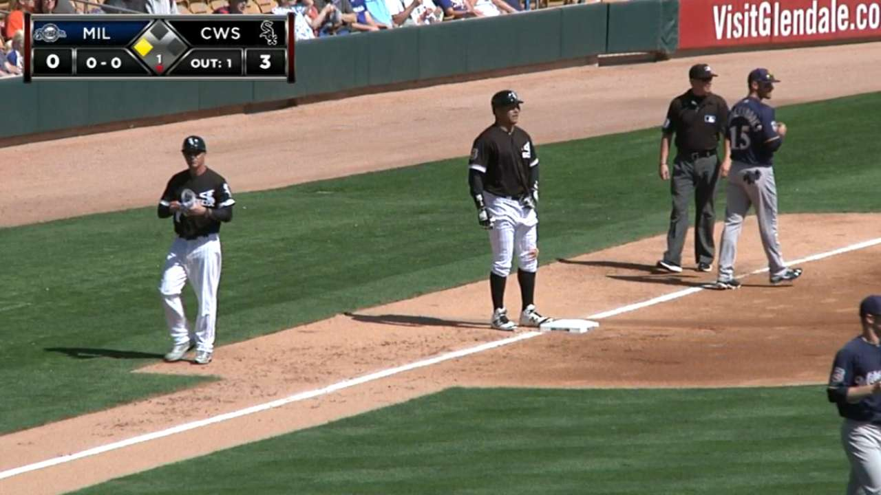 Garcia's two-run triple
