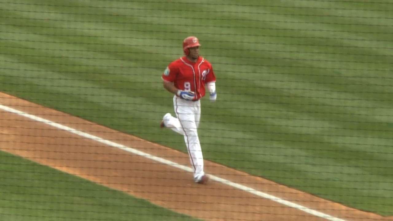 Revere's two-run homer
