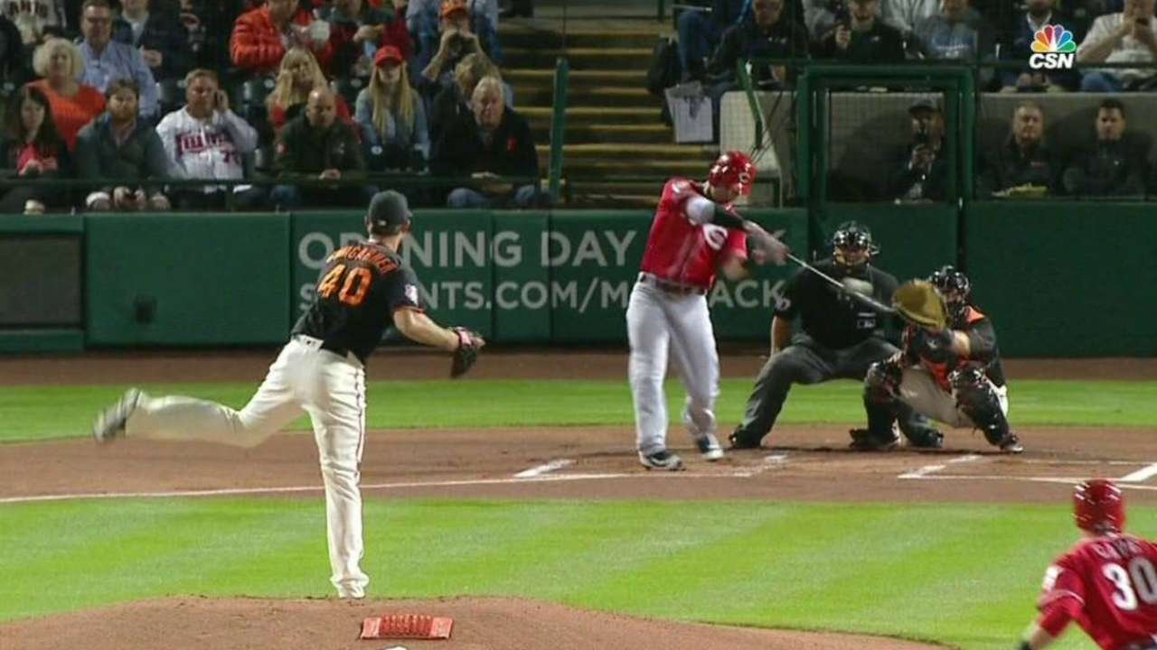 As precaution, Winker out with strained hip