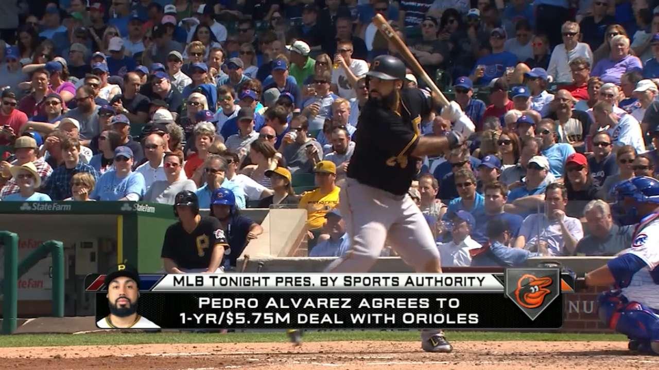 MLB Tonight on Alvarez to O's