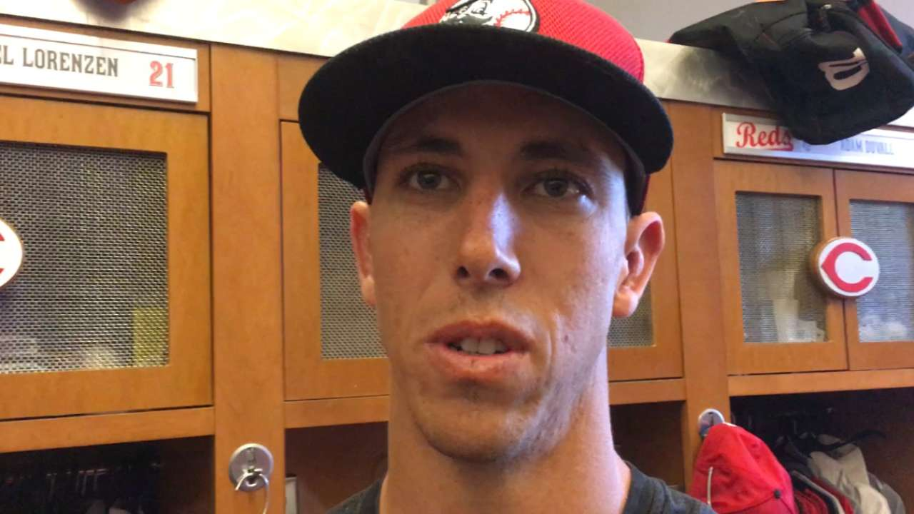 Lorenzen scratched from spring start for Reds