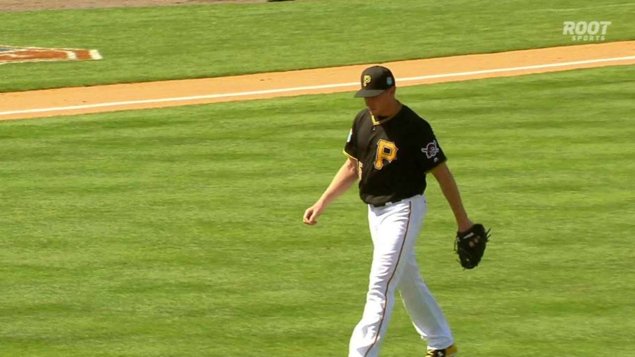 Melancon strikes out the side