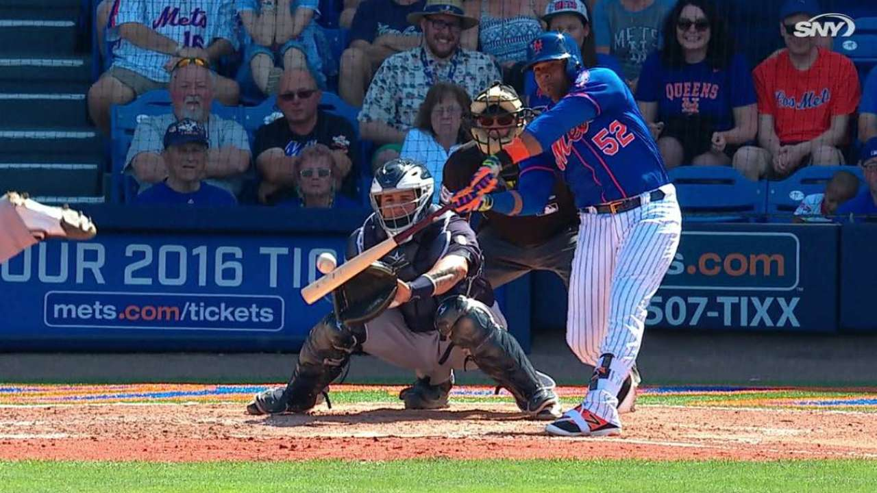 Cespedes tallies RBI as Mets tie Yankees