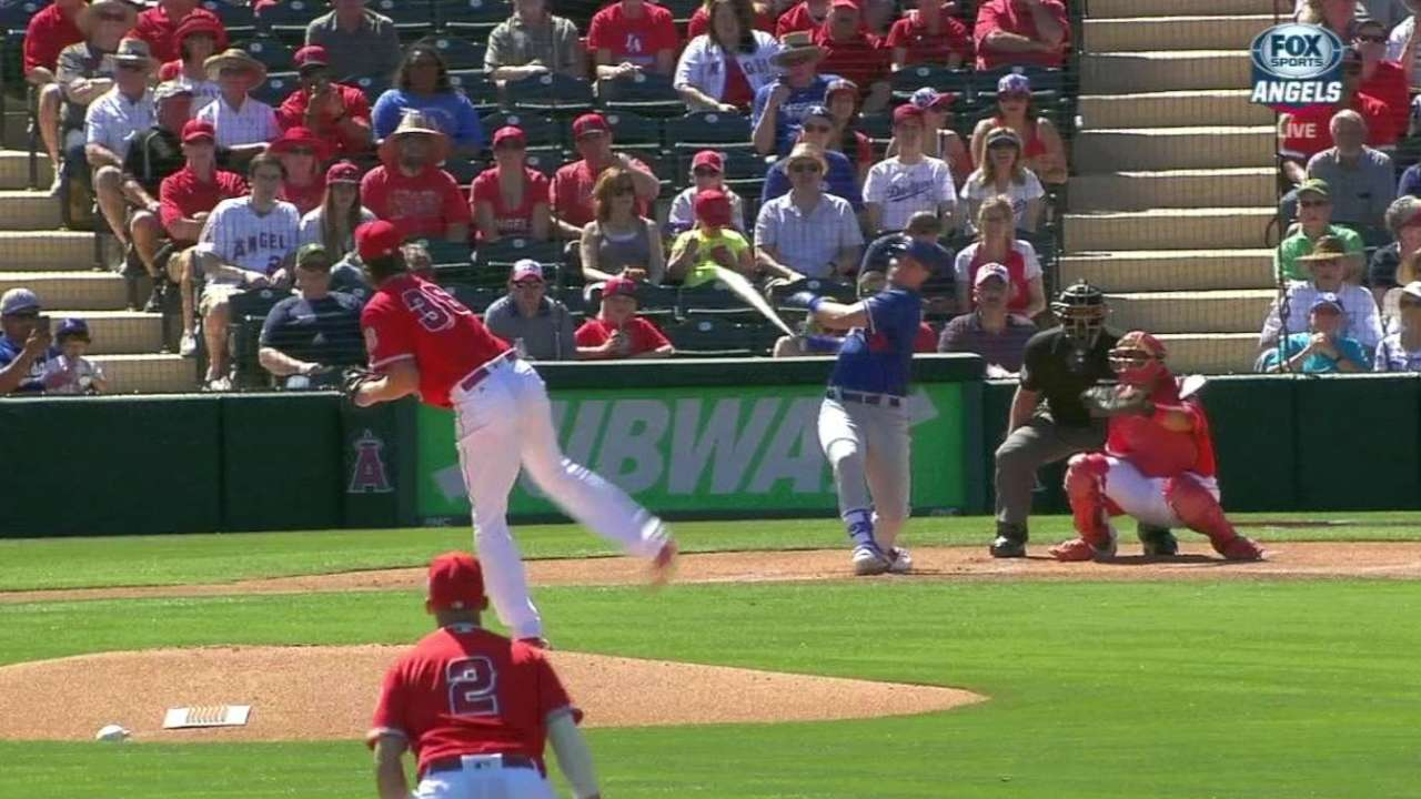 Pederson, Trout, Pujols lead hit parade in tie