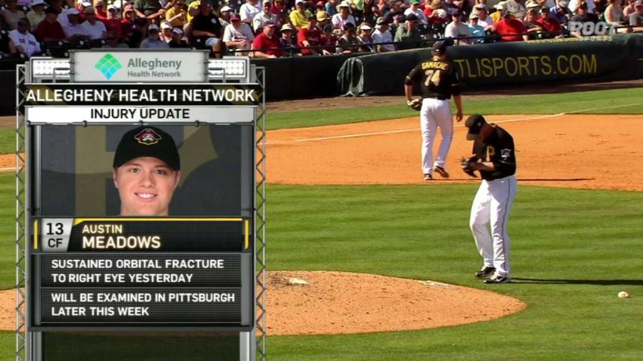 Broadcast on Meadows' injury