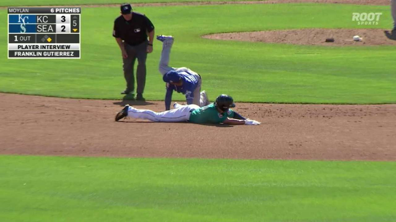 Royals turn double play