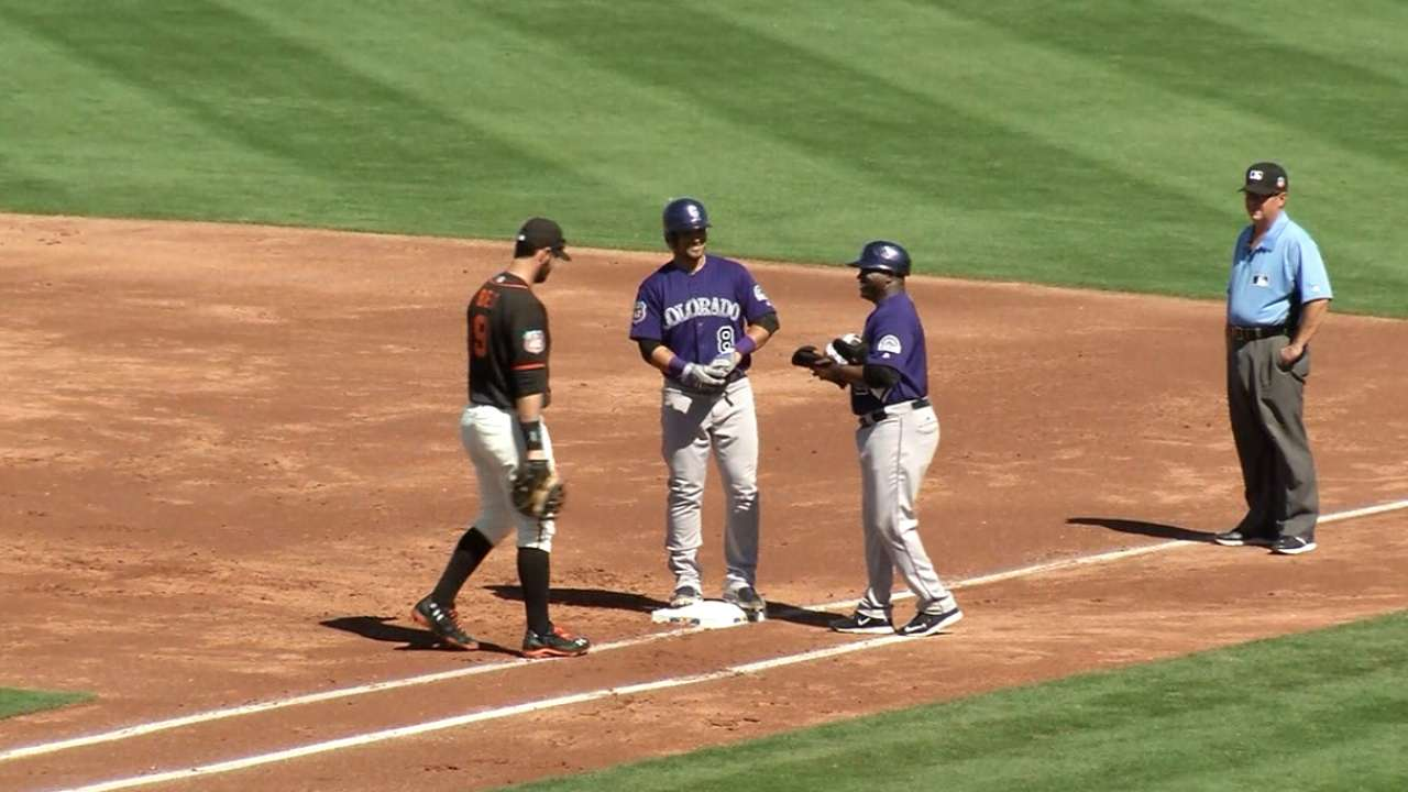 Parra's two-run single