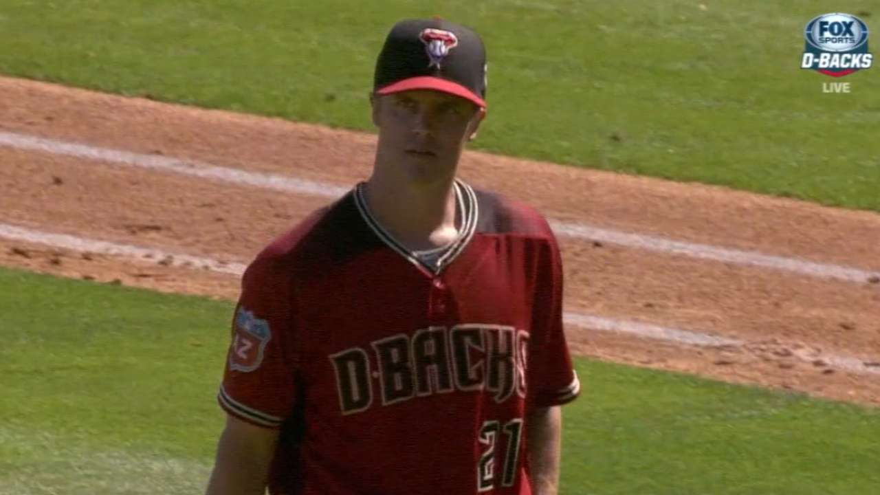 Greinke on second spring start