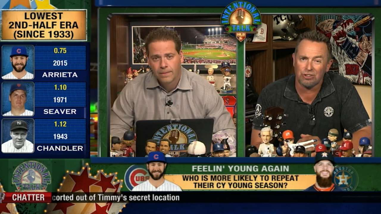 Show Biz on repeating Cy Youngs