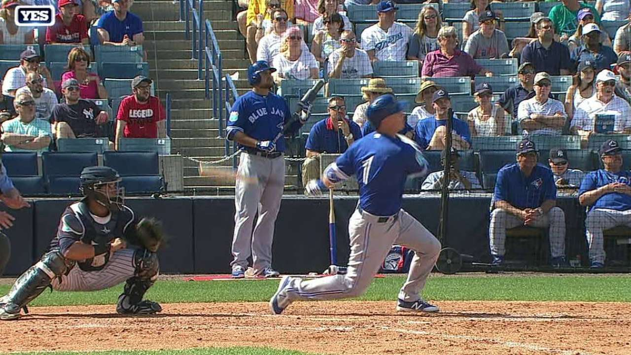 Burns' three-run homer