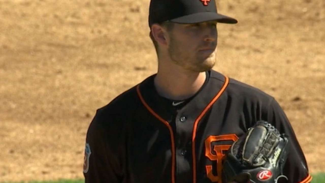Stratton leads strong showing for Giants pitching prospects