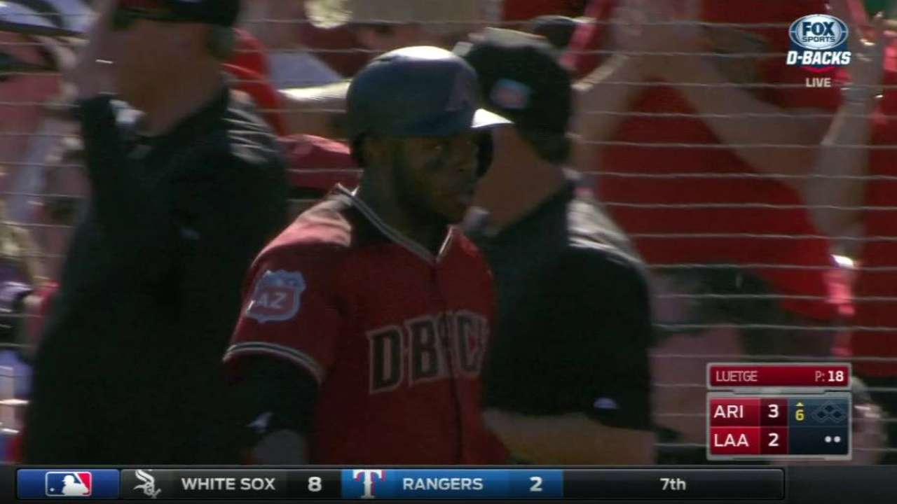 Bourgeois' three-run homer