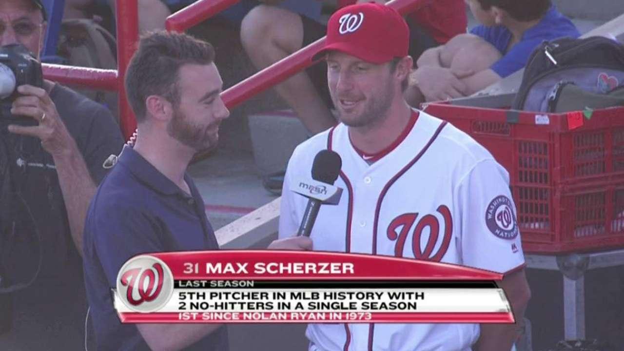 Baker hints Scherzer will start Opening Day