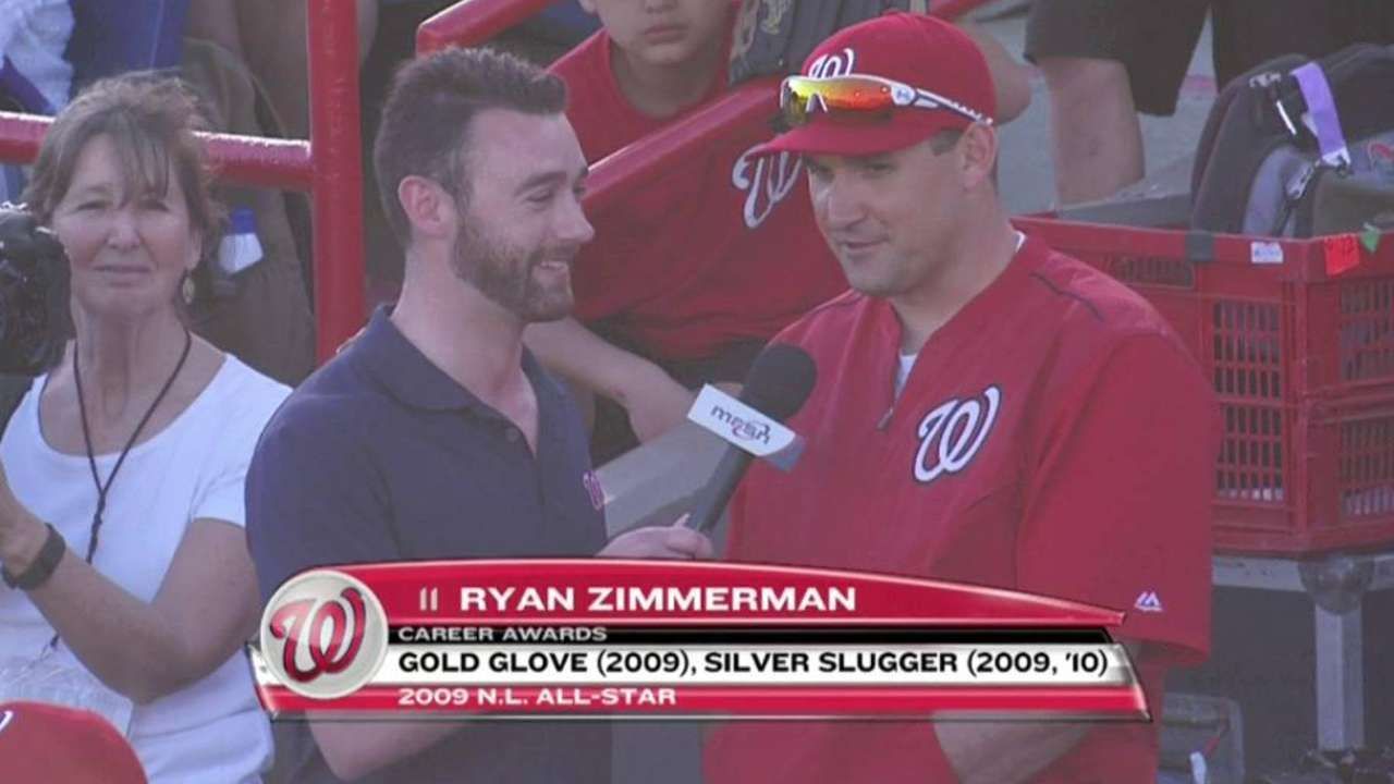 Zimmerman discusses injury