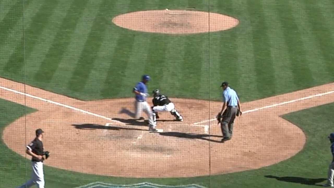 Butera's inside-the-parker trumps Sox triple play