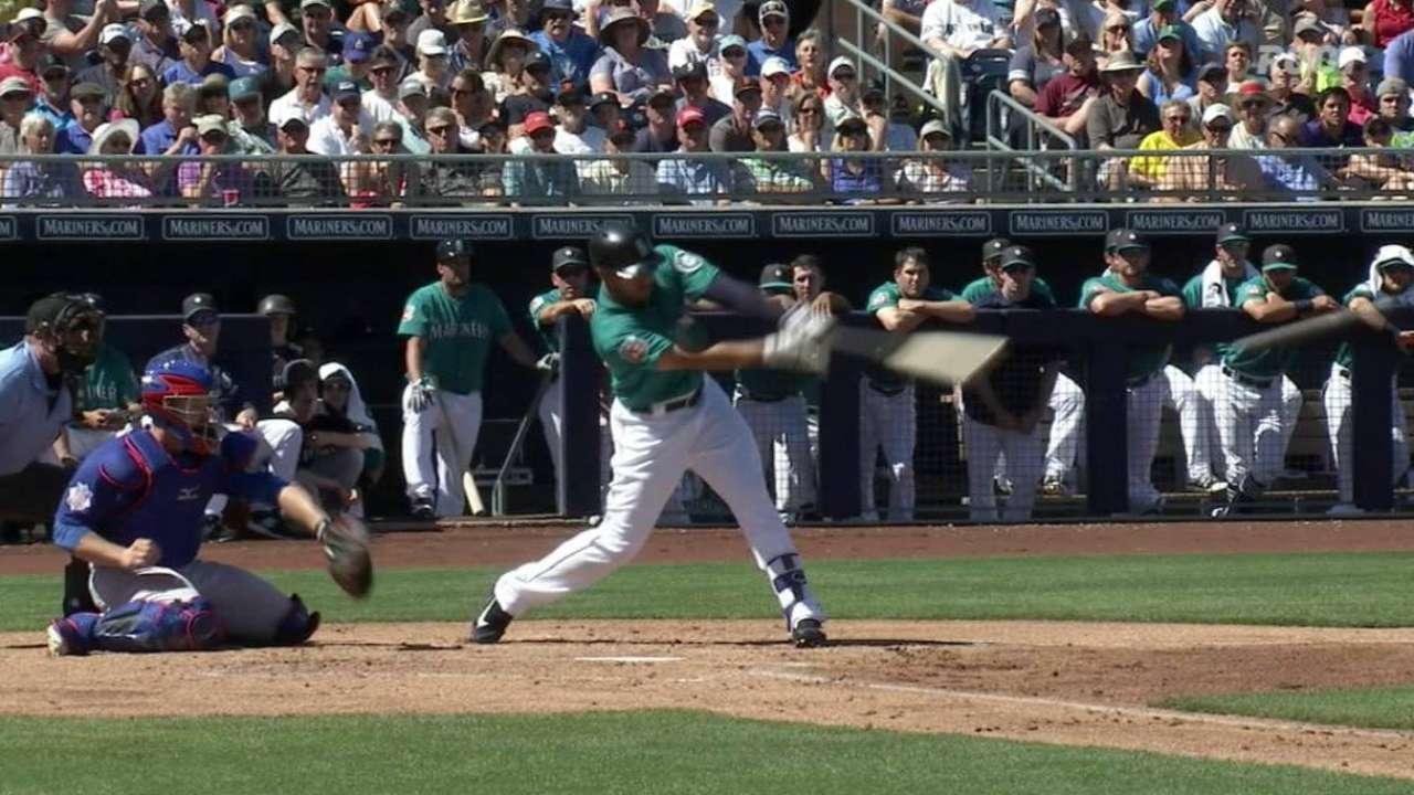Romero's two-run double