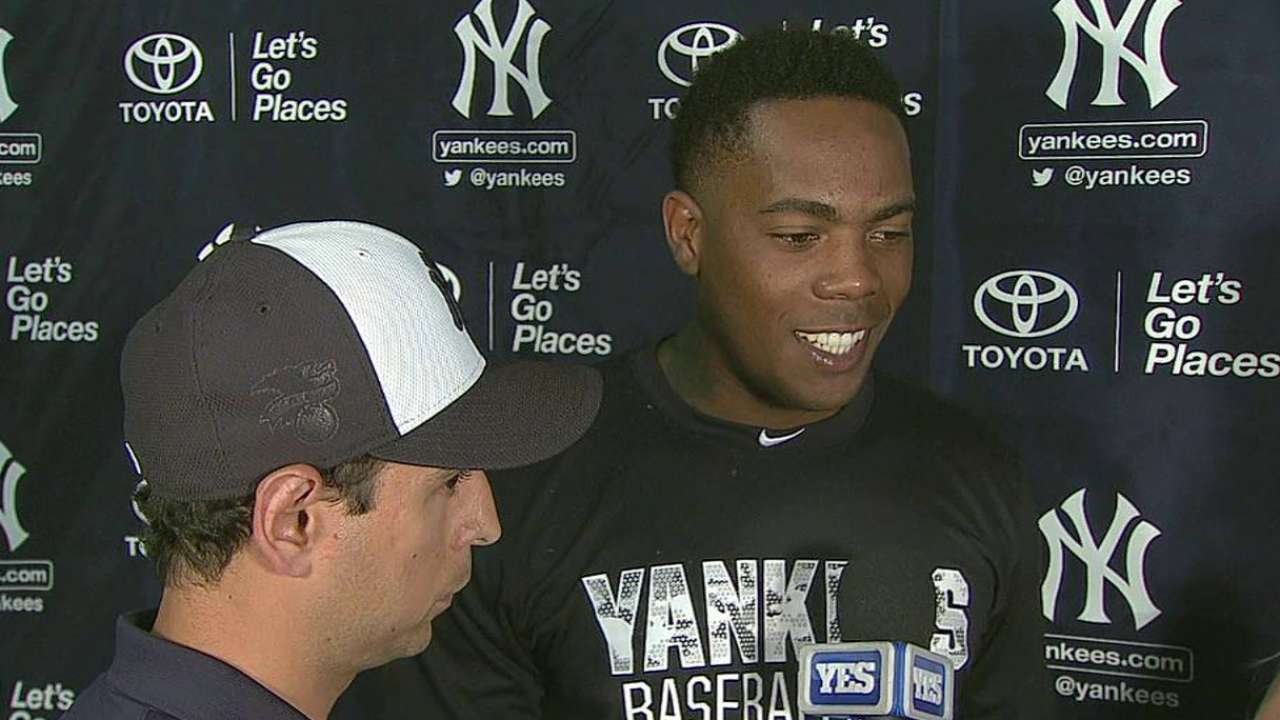 Command off, but Chapman feels 'great' in debut