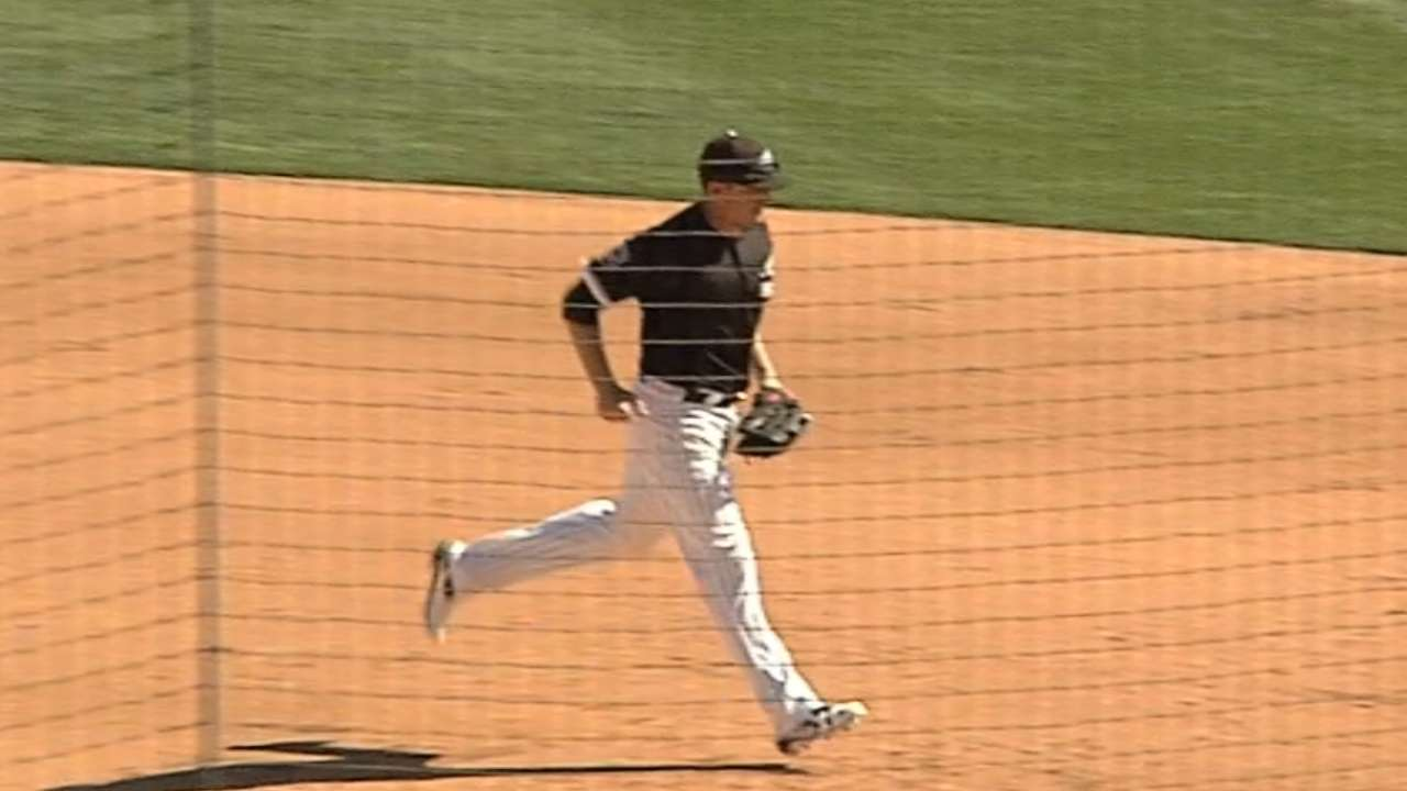 White Sox turn 7-6-3 triple play against Royals
