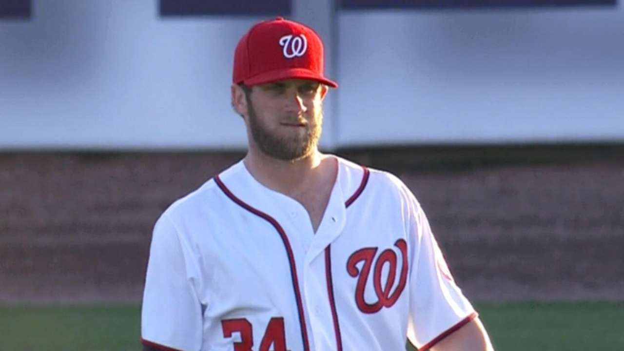 Nats announcers on Bryce's flair