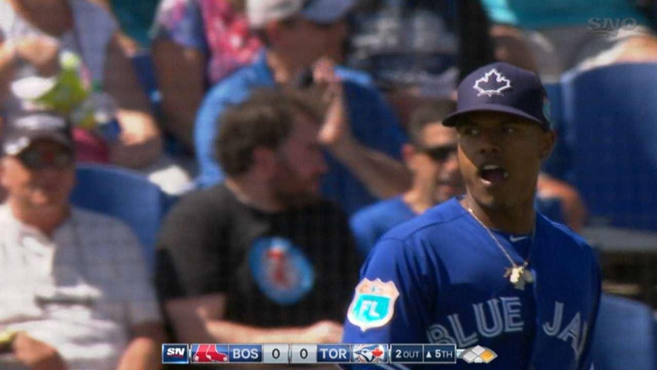 Stroman, Wright impress as Blue Jays win in 10