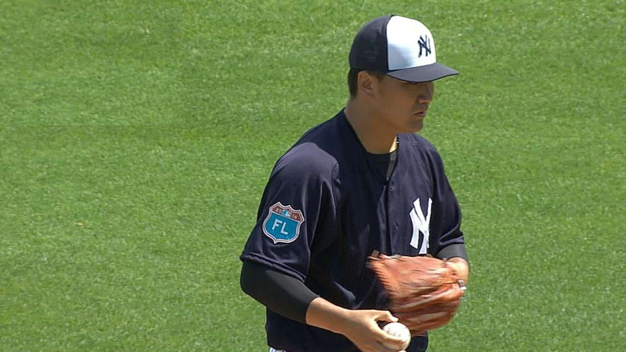 Tanaka's three scoreless innings