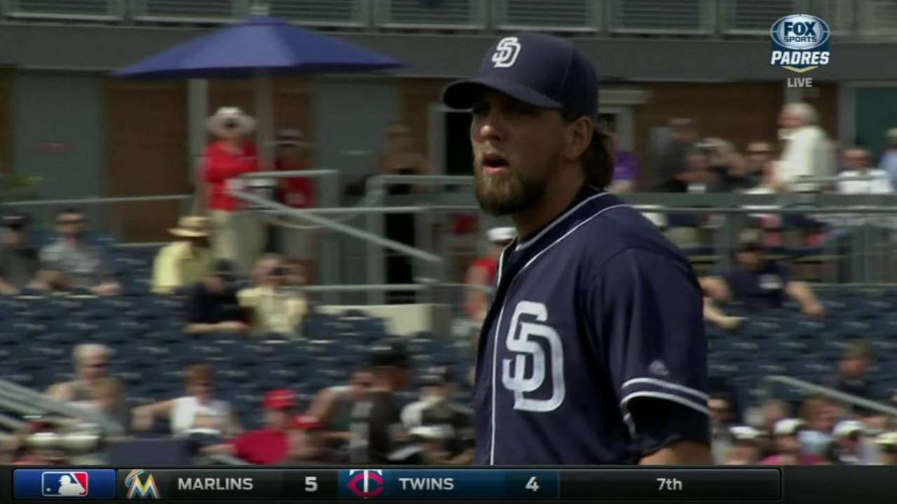 Padres return Rule 5 Draft pick Martin to Indians
