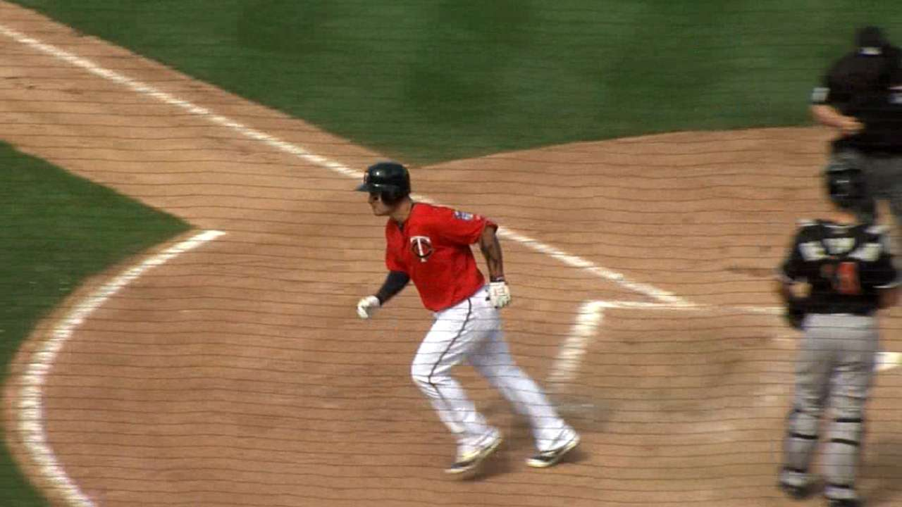 Park blasts third spring home run for Twins