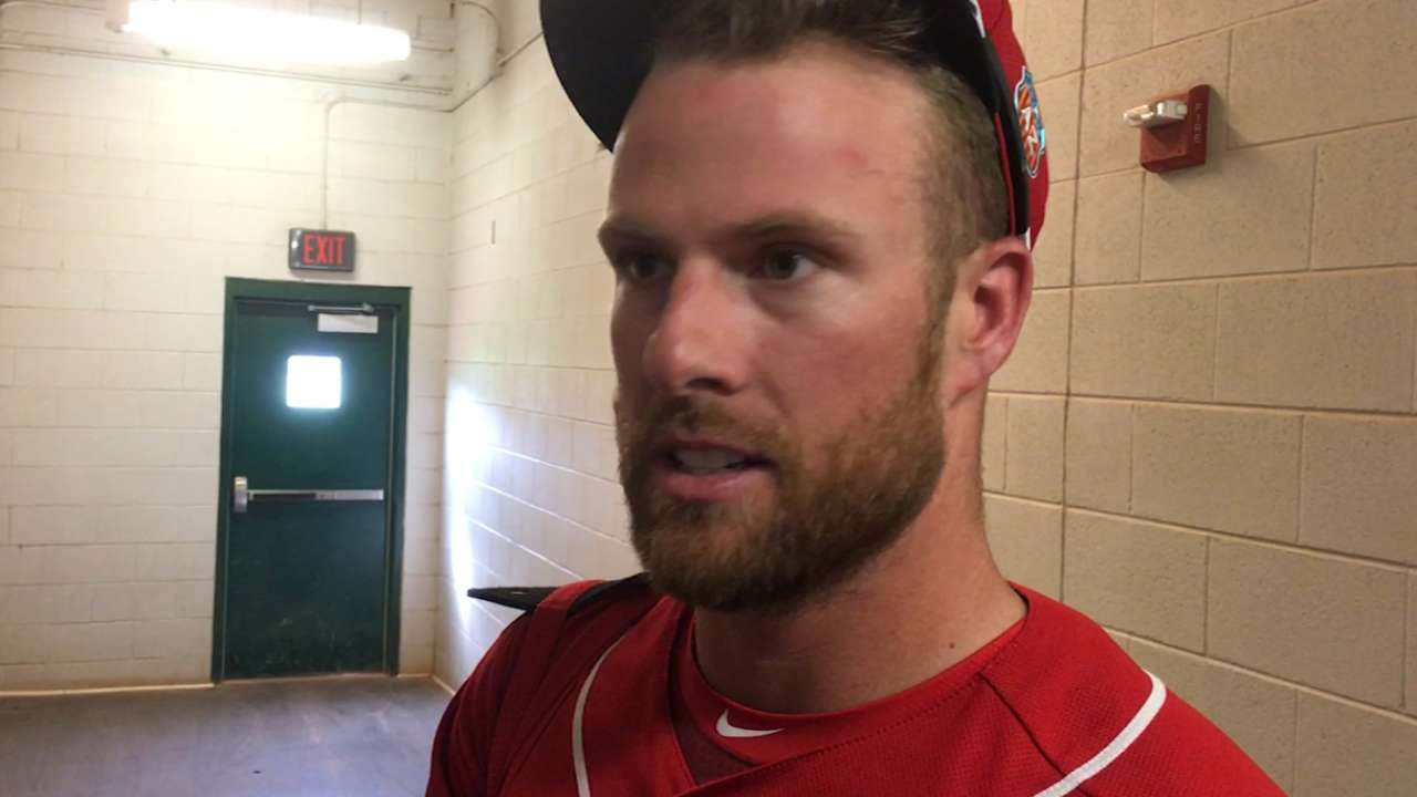 Rust evident, but Cozart thrilled to be back