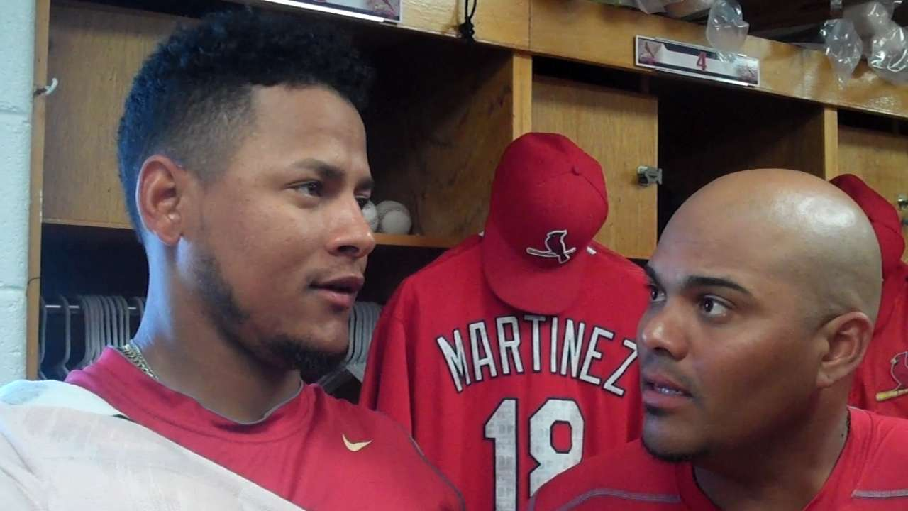 Martinez calls his Grapefruit debut an 'exciting day'