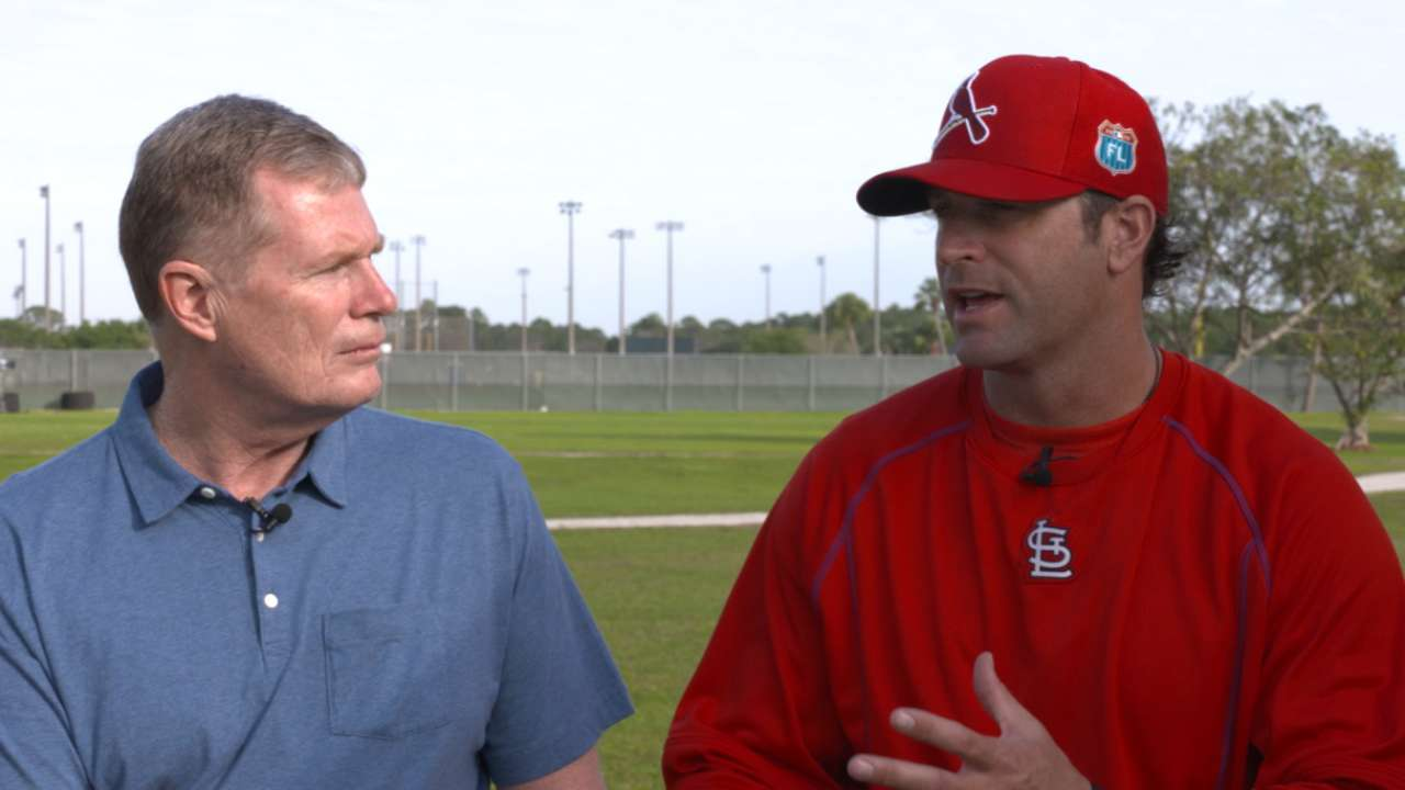 Matheny on batting order