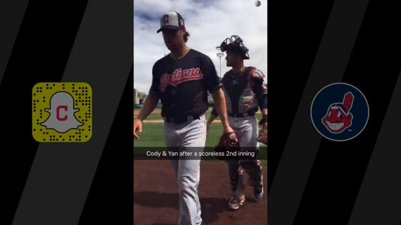 Tribe takes fans along for ride on Snapchat Day
