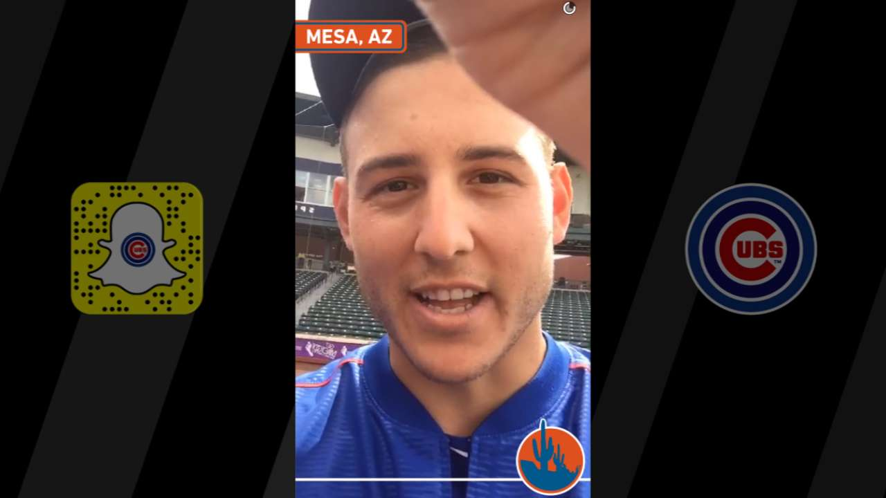 Rizzo, country star Eldredge a Snapchat force