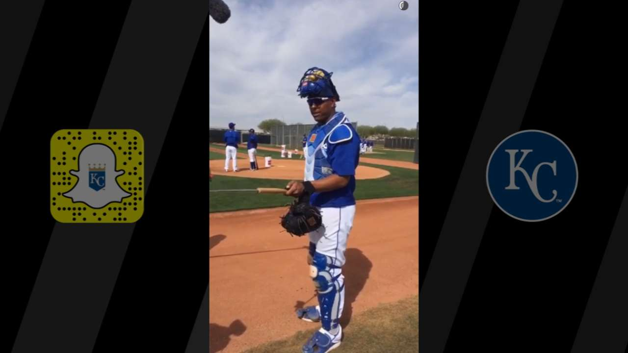 Royals, Salvy give fans access with Snapchat