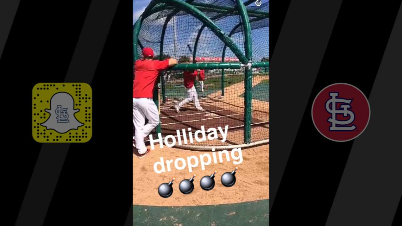 Not a drill: Cards show game prep on Snapchat