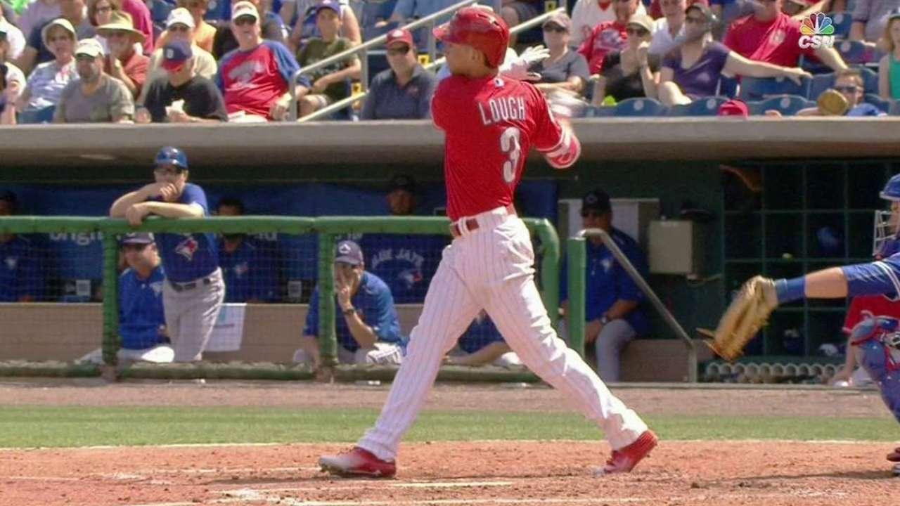 Lough's two-run homer