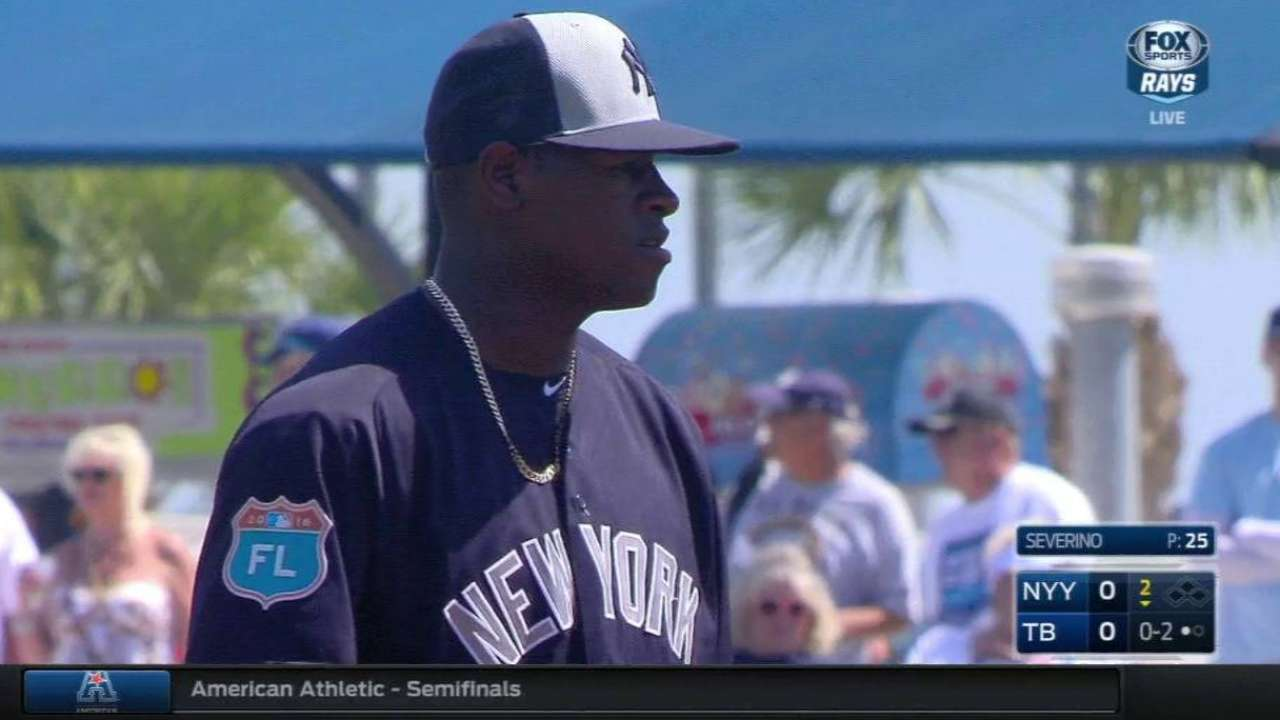 Severino has confidence, poise beyond years