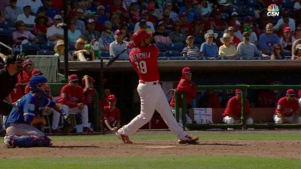 Phillies, Blue Jays combine for four homers