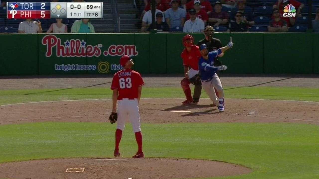 Mier's two-run home run