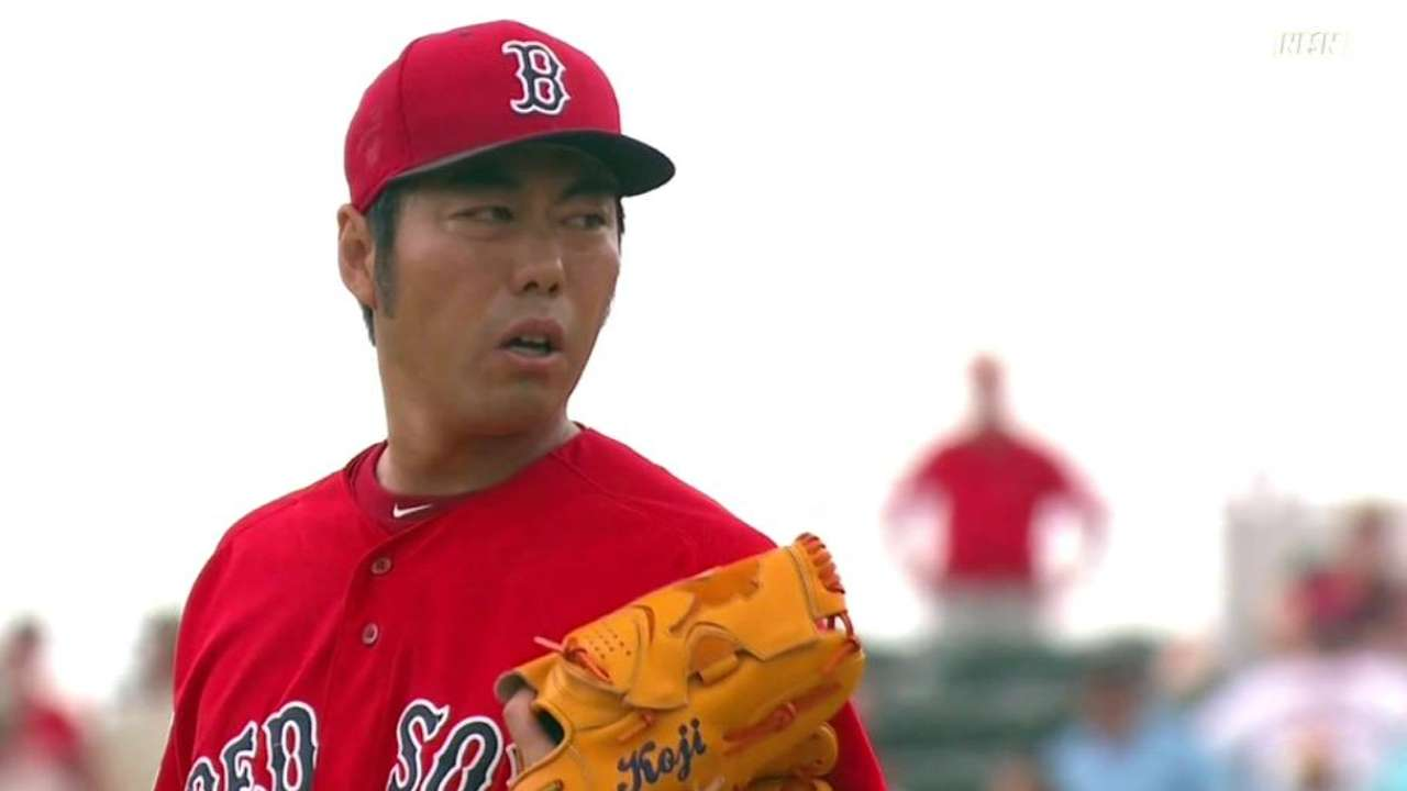 Uehara makes spring debut, ready for new role