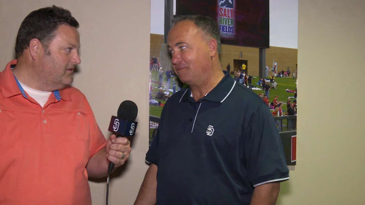 Orsillo excited about new start in SD