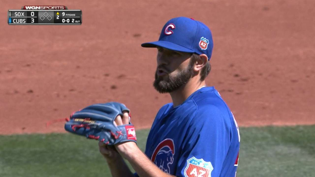 Hammel's shutdown outing