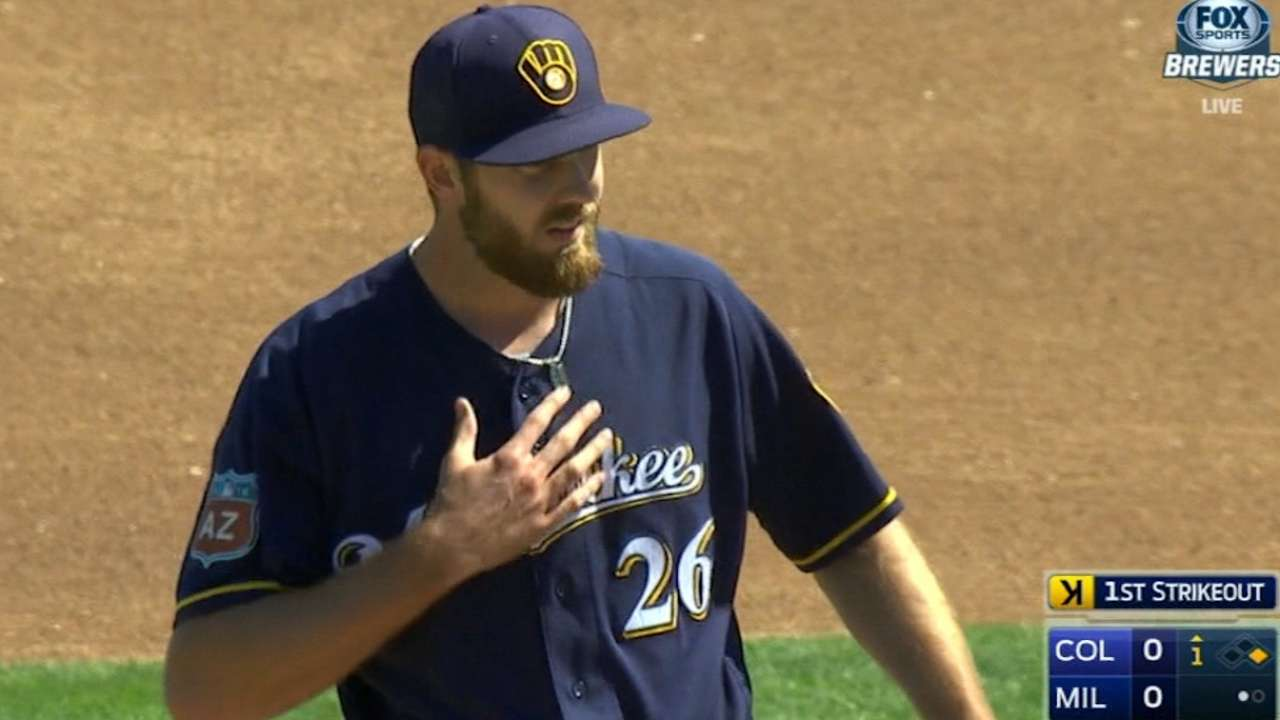 Jungmann dazzles with 3 hitless innings