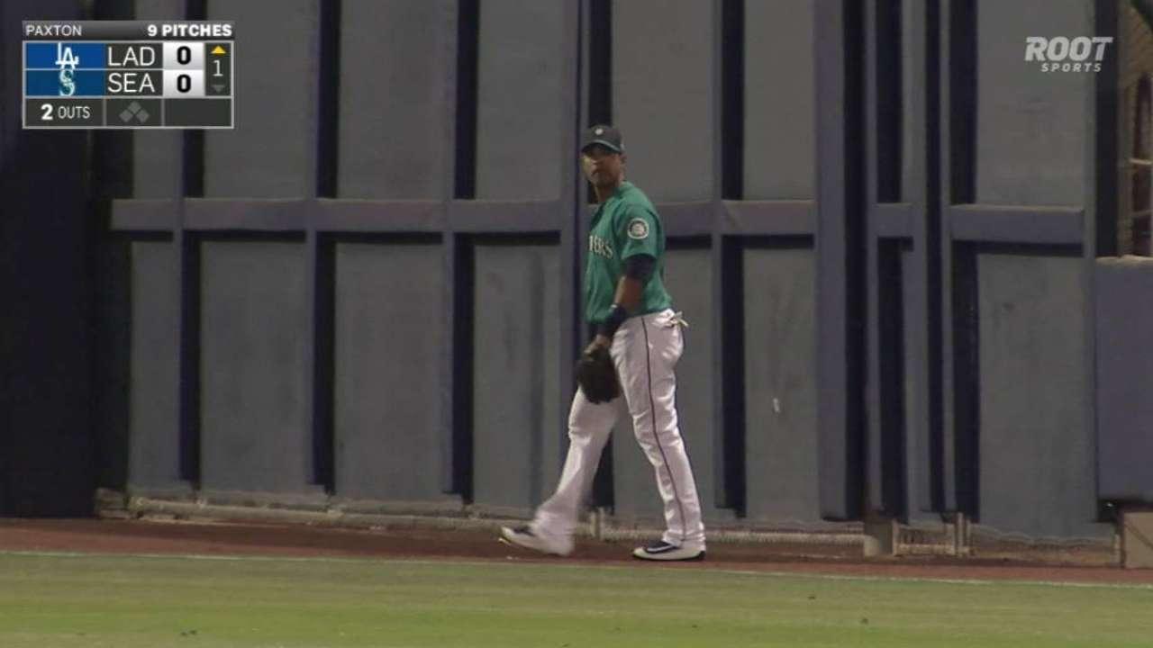 Gutierrez's nice catch