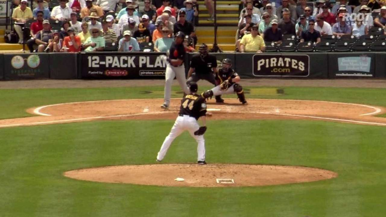 Moya's two-run home run