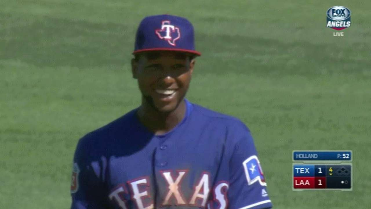 Profar's fine defensive play