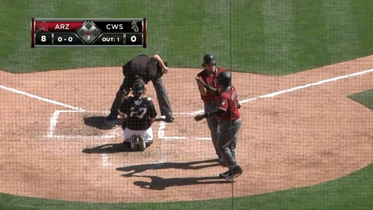 O'Brien's second home run
