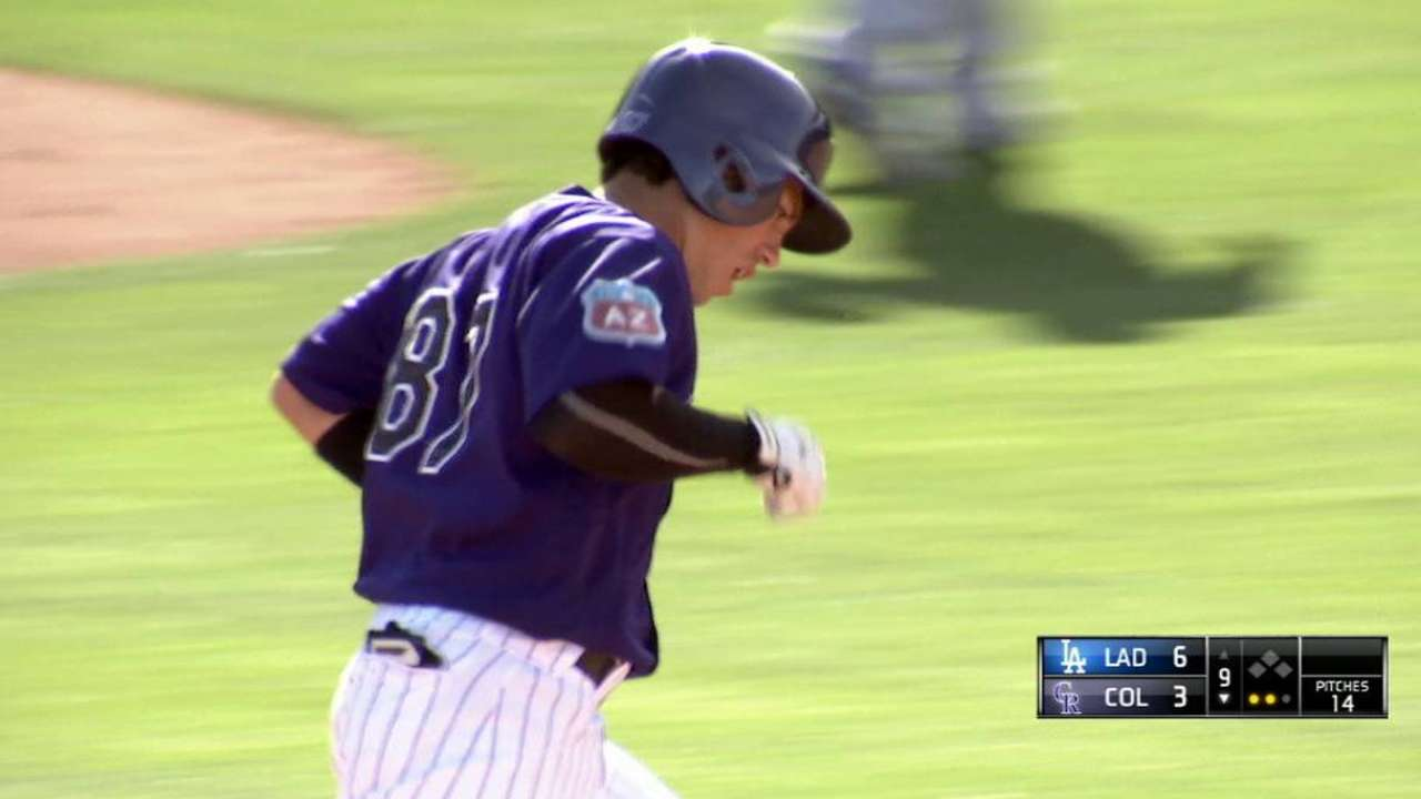 Wolters wins spot as Rockies' backup catcher